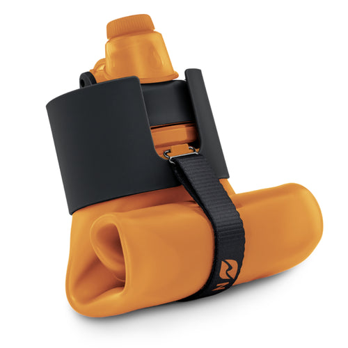 Nomader Collapsible Water Bottle (Orange) - 2 pack