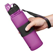 Load image into Gallery viewer, Nomader Collapsible Water Bottle (Purple) - 2 pack