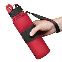 Load image into Gallery viewer, Nomader Collapsible Water Bottle (Red) - 2 pack