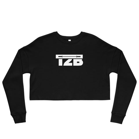 Womens Big Logo Crop Sweatshirt