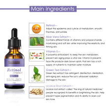 Load image into Gallery viewer, retinol-serum-ingredients