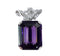 1950s Amethyst & Diamond Pendant Brooch