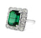 1930s Green Tourmaline Ring