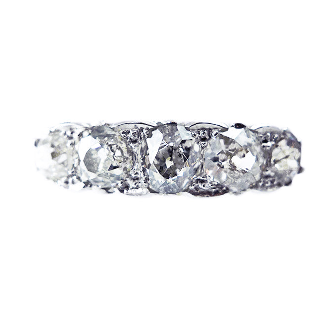 Edwardian 5 Stone 1.50ct Diamond Ring