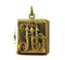 Victorian 15ct gold rectangular locket