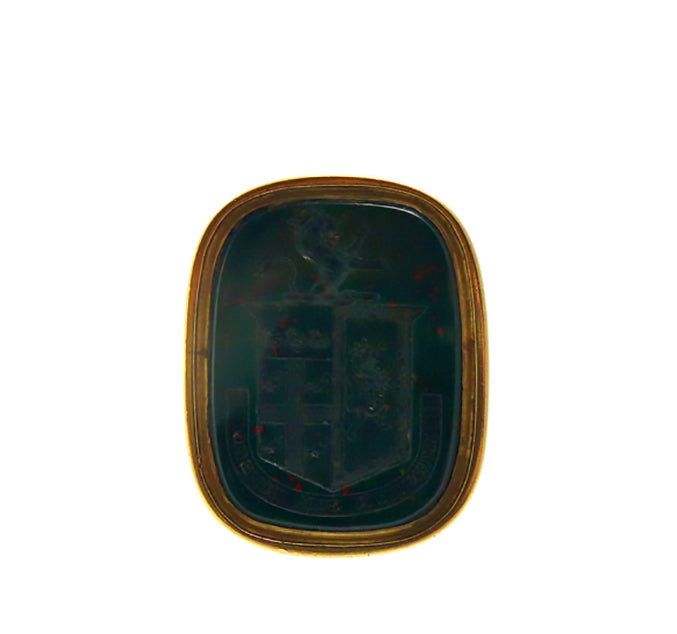 Victorian 18ct Lion Intaglio Seal