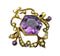 Victorian Amethyst & Pearl Pendant