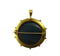 Victorian Etruscan diamond and enamel locket