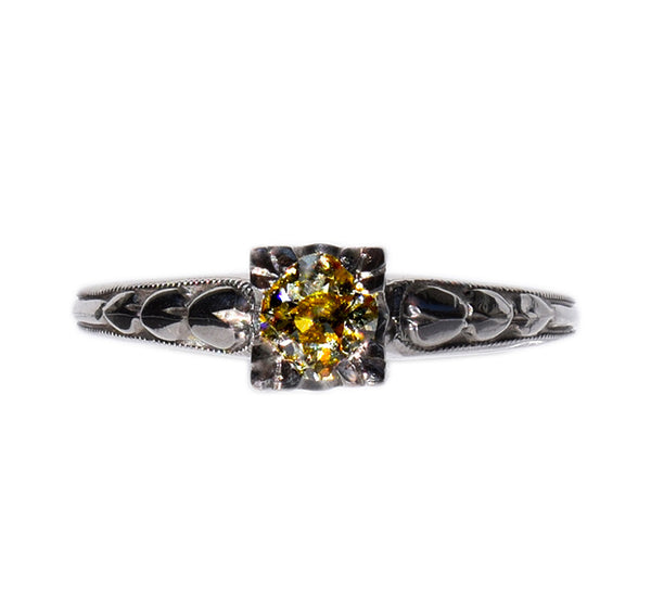 antique_yellow_diamond_ring