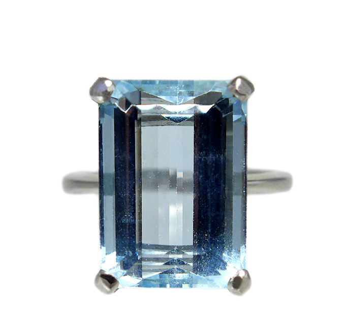 Aquamarine 5.90ct Ring