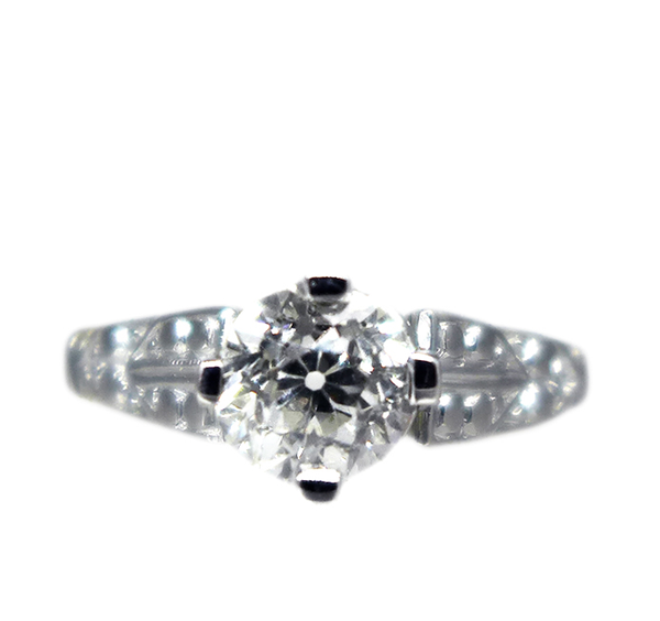 1920s Solitaire 1.00ct Diamond Ring