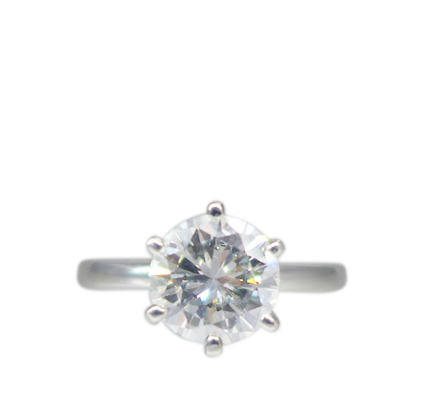 1.64ct Solitaire Diamond Ring
