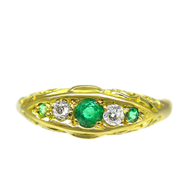 Edwardian Emerald Ring