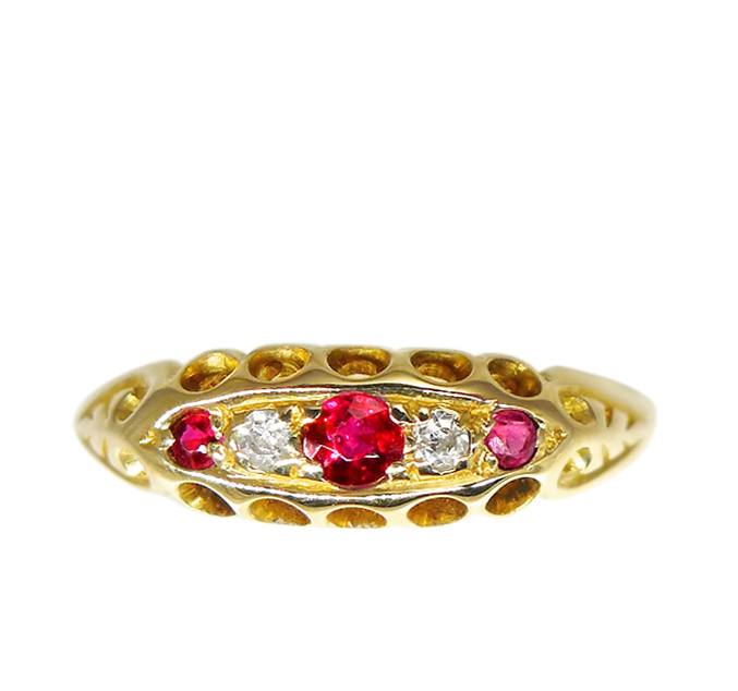 Chester 1919 Ruby Ring