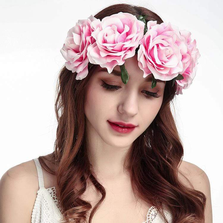 Multi-color Rose Hair Band accessories