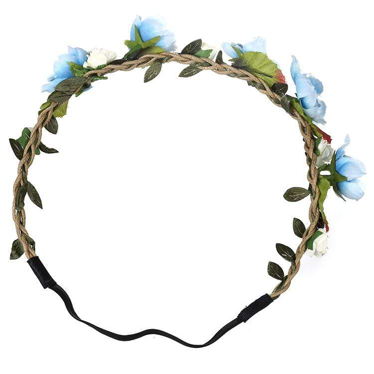 Flower Fairy Headband Bohemian Braid Headband