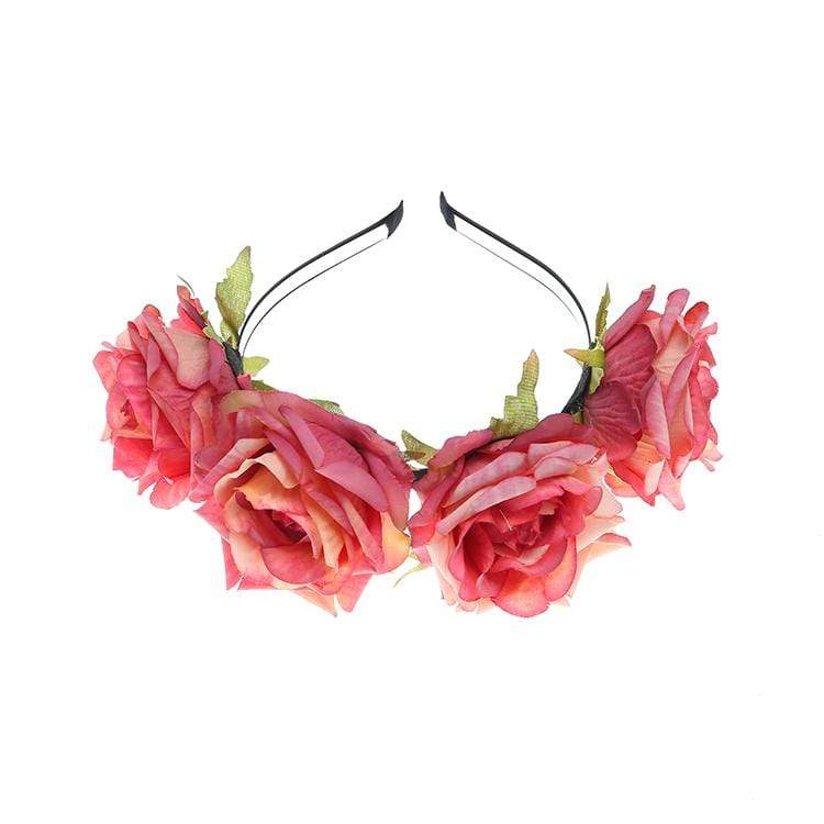 Vintage Rose Flower Headband accessories