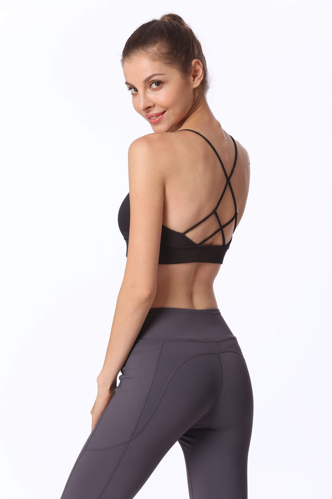 Open Back  Yoga Workout Clothes