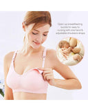 Exlura Women's Seamless Nursing Wirefree Maternity Bras for Breastfeeding
