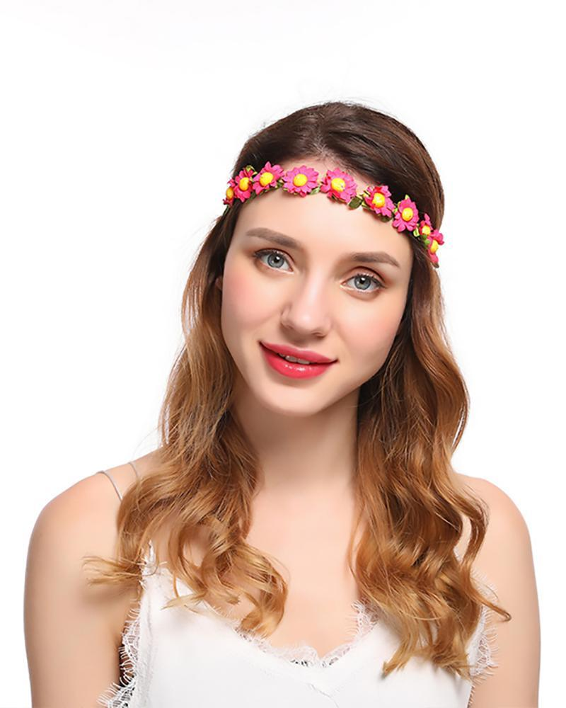 Sunflower Hair Band Seaside Holiday accessories