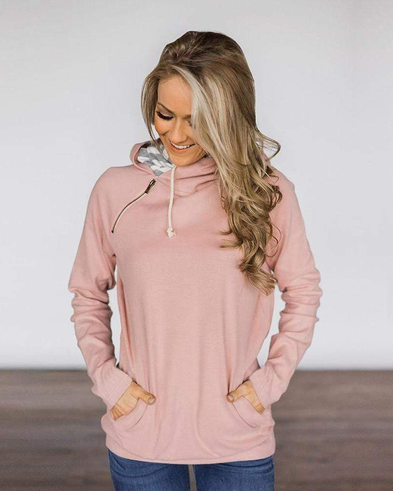 Casual Hoodies Pullover Drawstring Sweatshirts with Pockets