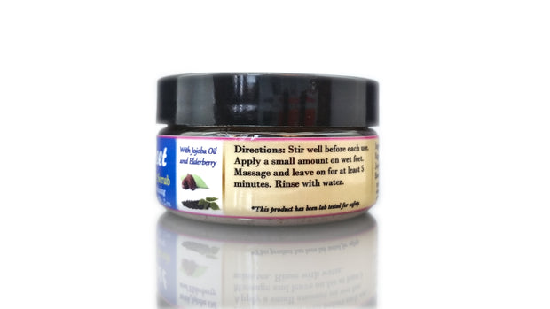Kissable Feet All-Natural Foot Scrub - 1 Month Supply