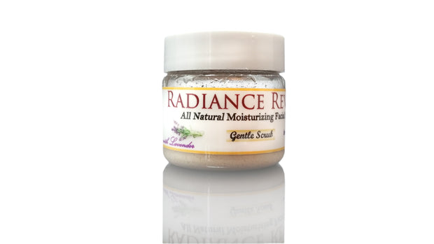 Radiance Reveal All-Natural Moisturizing Facial Scrub Gentle Scrub - 2 Week Supply
