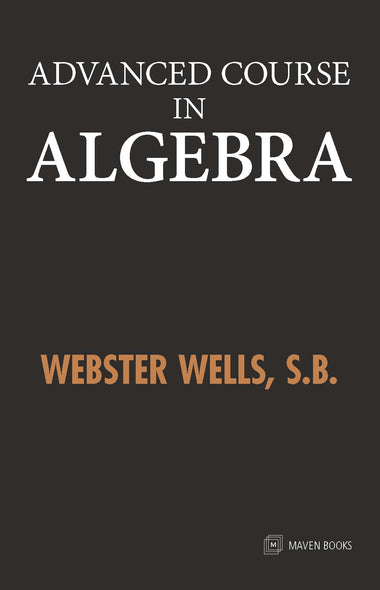 Advanced course in Algebra