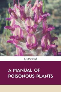 A MANUAL OF POISONOUS PLANTS