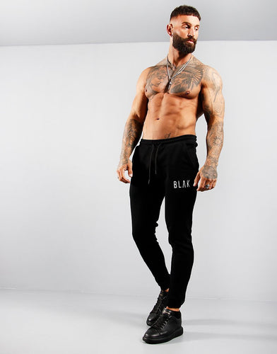 JOGGERS | PLAIN | CUFFED - BLAK APPAREL