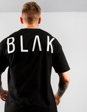 Load image into Gallery viewer, T-SHIRT | WHITE PRINT - BLAK APPAREL