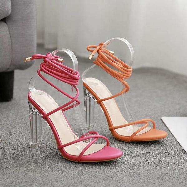 Donna Statement Strappy Heels - Alamode By Akanksha
