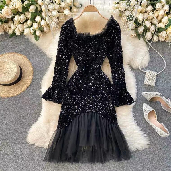 Blair Sequined Party Dress