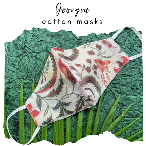 Georgia Limited Edition Cotton Mask