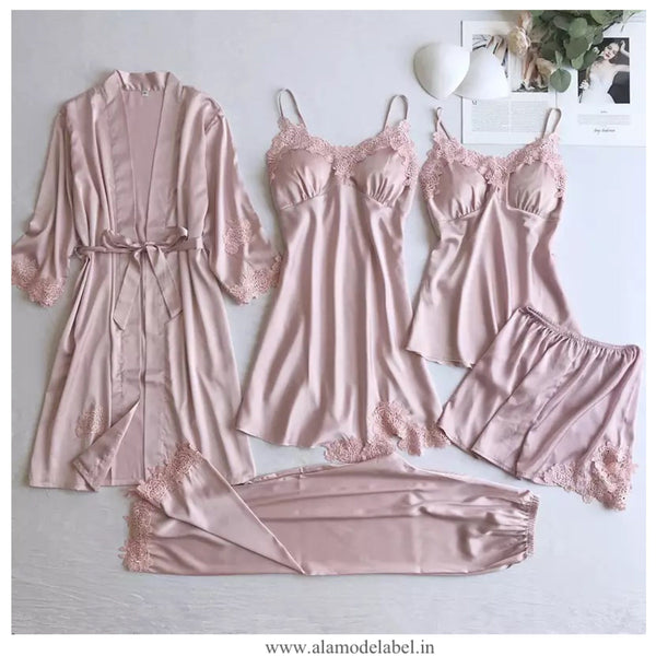 Anastasia Luxury Loungewear Set - Alamode By Akanksha
