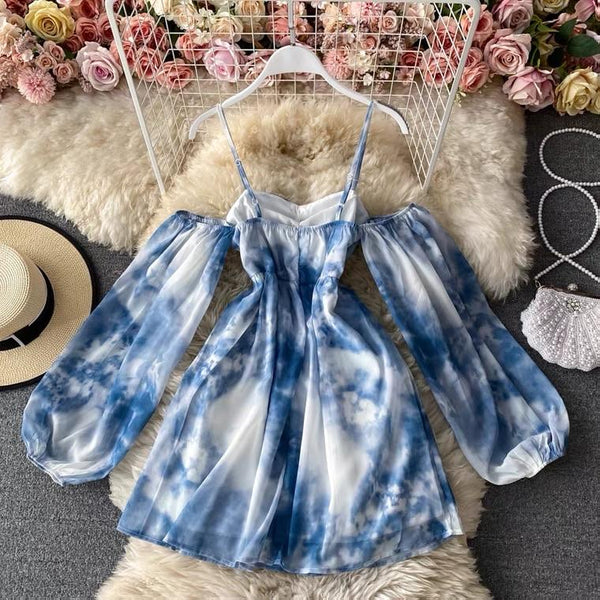 Boca Tie and Dye Dress