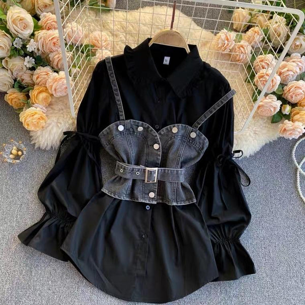 Tarly Blouse with Corset