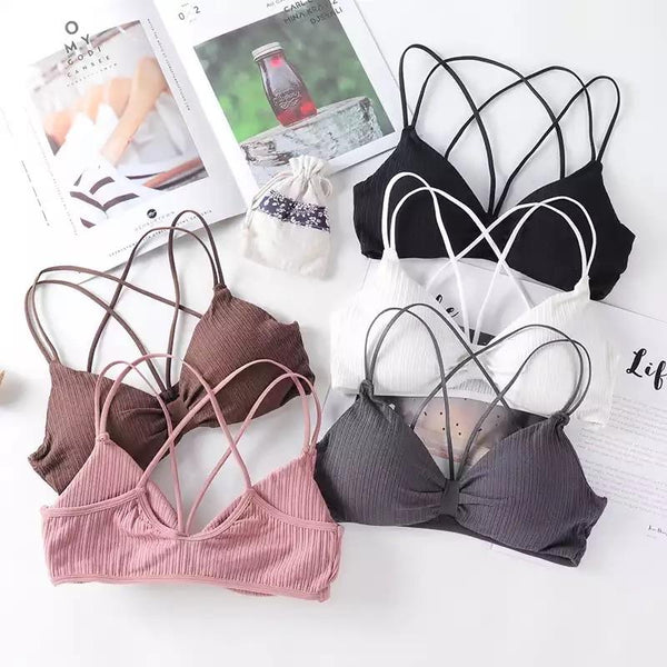 Strappy Push-up Bralette - Alamode By Akanksha