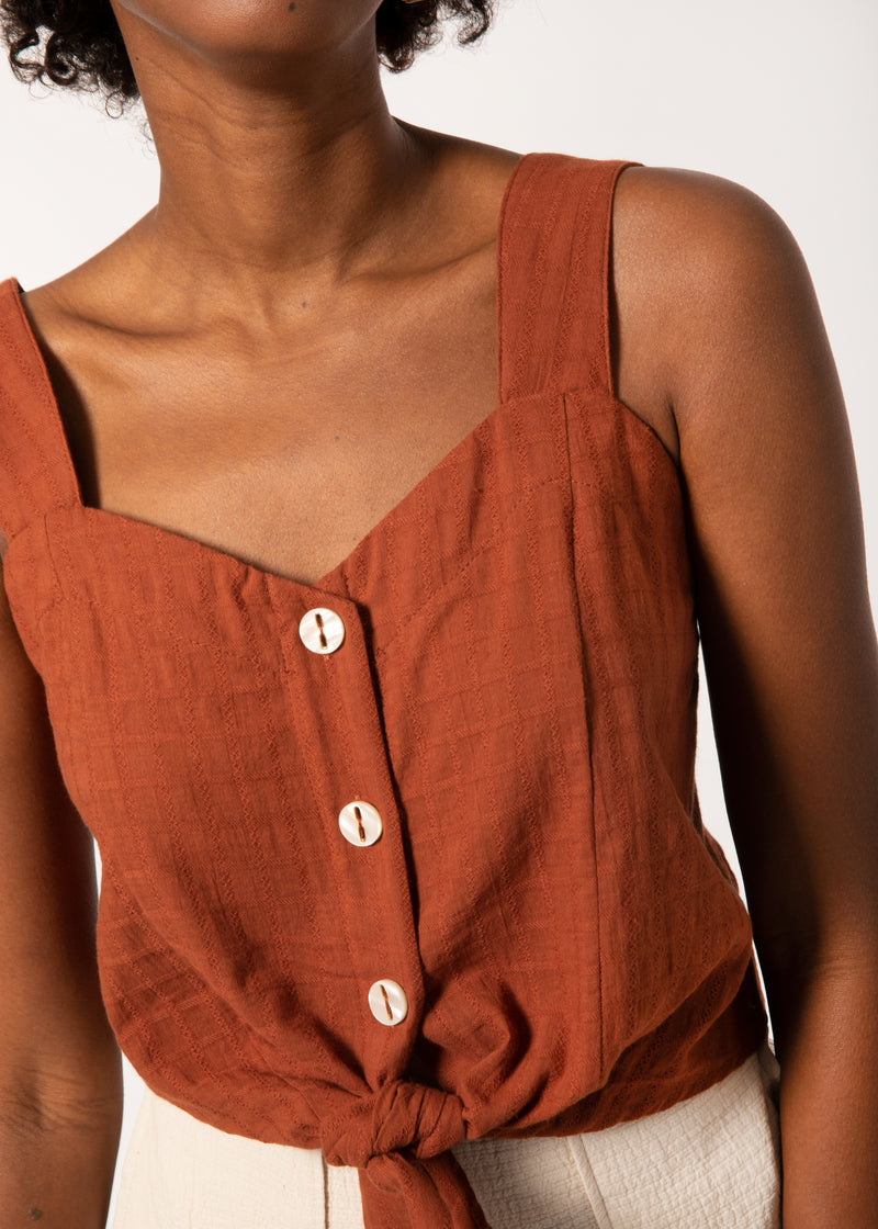 Calla Sleeveless Top