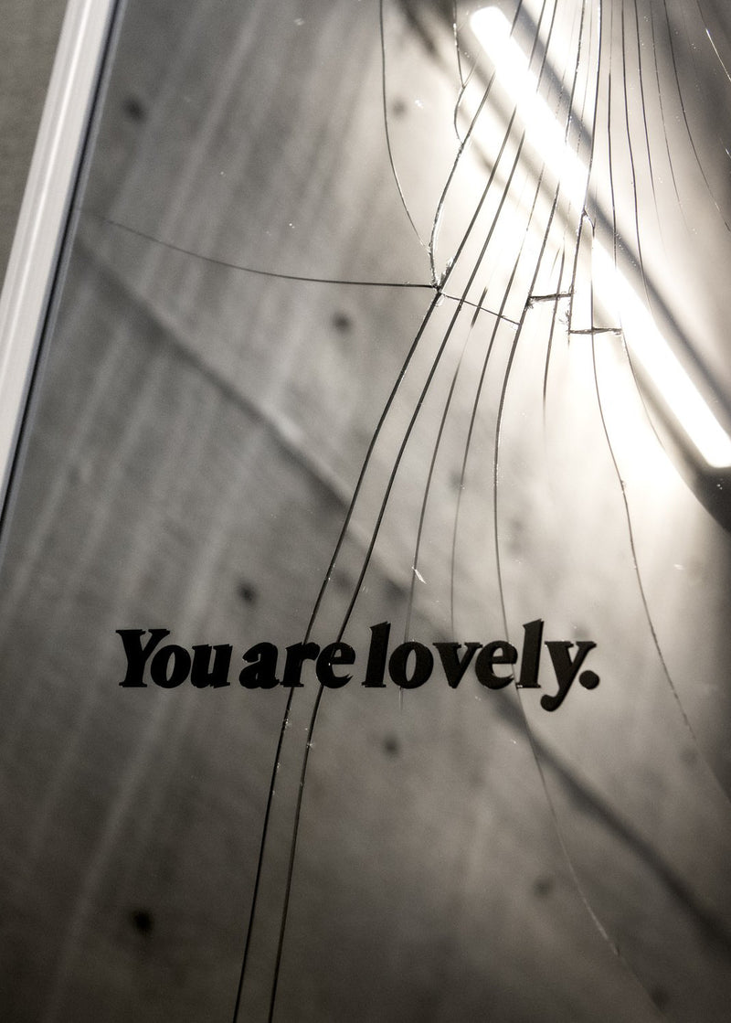 You are Lovely | Darling Magazine Mirror Decal Success