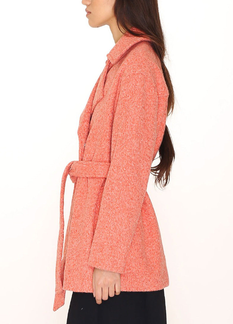 Pepaloves Vera Coat | Washed Red