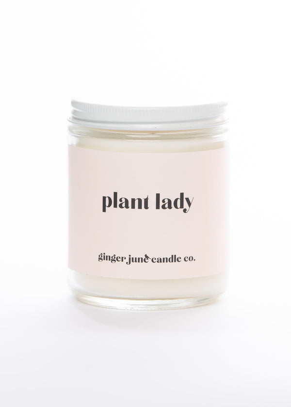 Plant Lady Handmade Candle