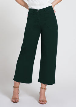 Simone Green Denim