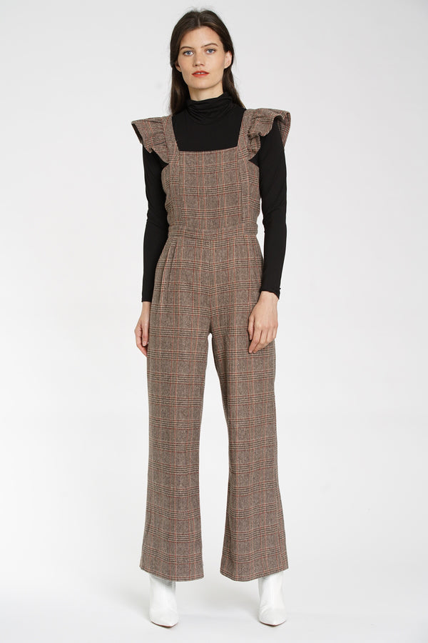 Huntsman Plaid Jumpsuit