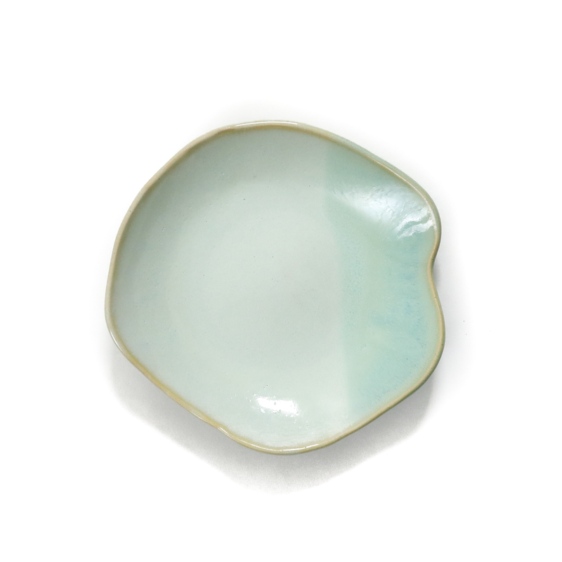 Mint Ceramic Keepsake Dish