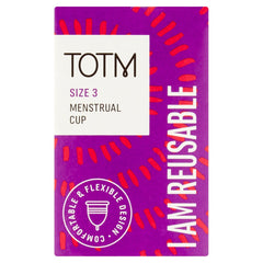 TOTM Reusable period cup