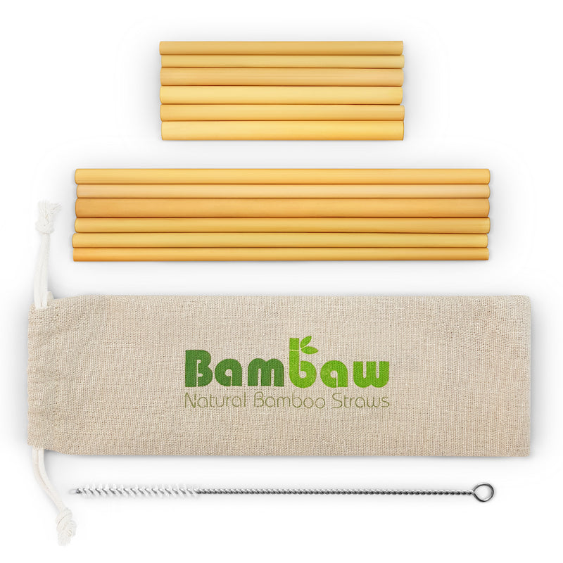 bamboo straws  - eco-friendly straws - reusable straws