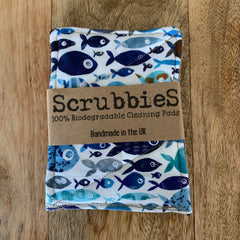 Biodegradable scrubbies