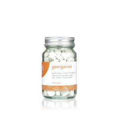 Georganics Toothpaste Tablets - Orange