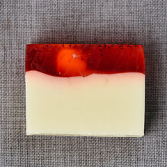 Organically scented soap bar